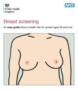 NHS breast screening guide